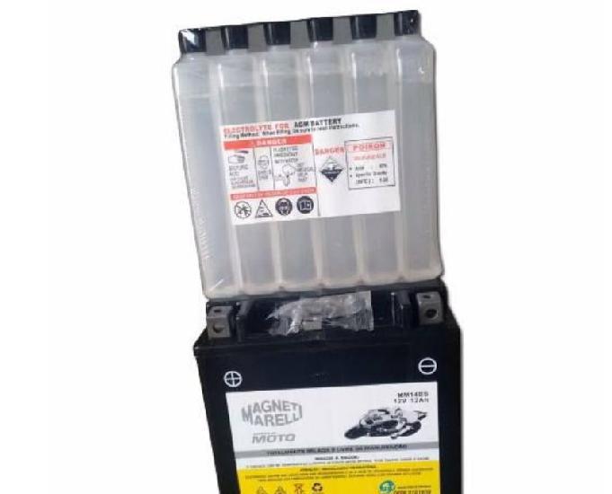 Bateria de moto magnettil (nova nunca usada com nota fiscal)