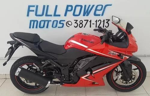 Kawasaki ninja 250r vermelha 2011