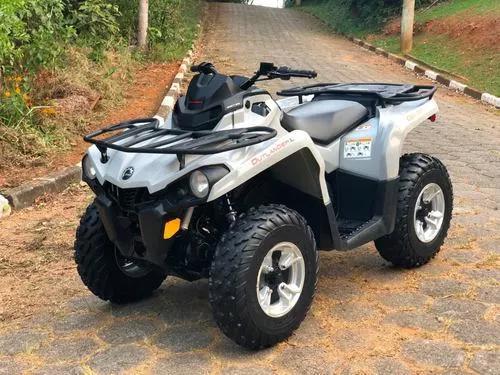 Quadriciclo can am outlander 500l (direção elétrica)