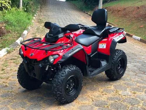 Quadriciclo can am outlander max 570 4x4 (com acessórios)