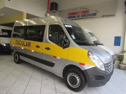 Renault master 2020 escolar (pronta entrega) l2h2