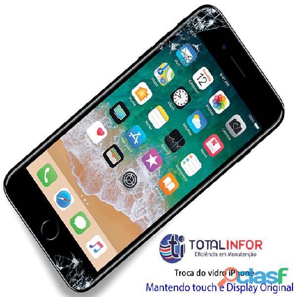Vidro iphone 6 – troca vidro da tela iphone 6 quebrada