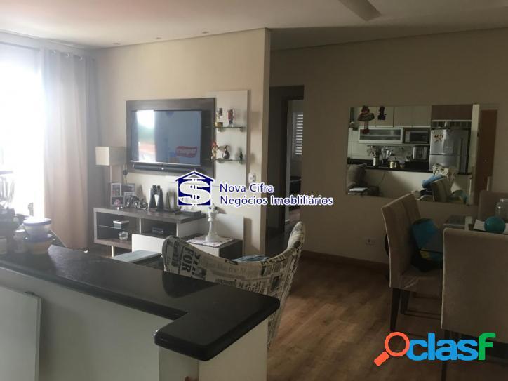 Apartamento 2 dormitórios (1 suíte) em jacareí - 66 m²