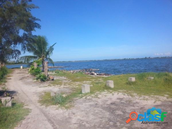 Ótima oportunidade, terreno com 670m², a 50m da lagoa!!