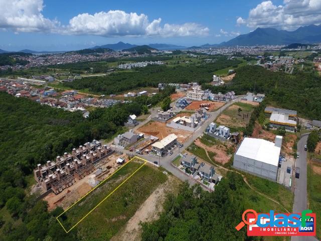 Terreno com área de 1.139,78m², venda direta, loteamento portal da colina, bairro forquilhas, são josé, sc, assessoria gratuita na pinho