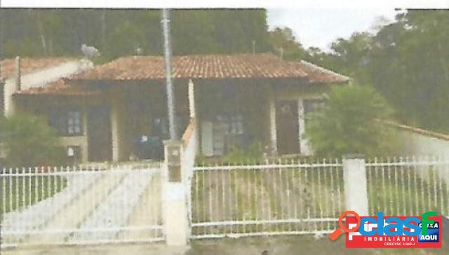 Casa geminada 02 dormitórios, venda direta caixa, bairro limeira baixa, brusque, sc