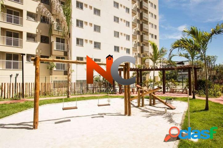 Apartamento com 2 dorms, del castilho, rio de janeiro - r$ 298.285,00, 47m² - codigo: 107