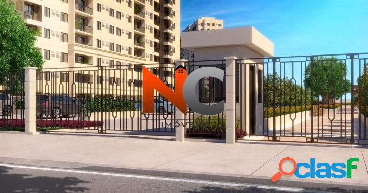 Vidamerica clube residencial - apartamento 2 dorms, r$ 276.908,33 - 56,40m²