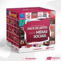 500 posts mídia social editáveis + bônus