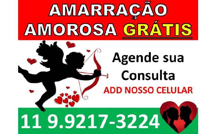 Amarração amorosa gratis 11 992173224
