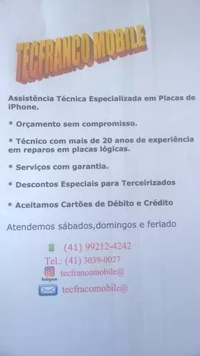 Assistência Técnica Especializada Placas iPhone