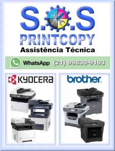 Assistência técnica impressoras/ copiadoras/