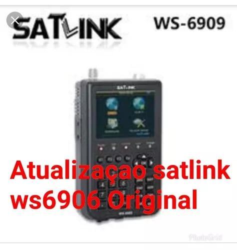 Atualização satlink ws6906 original, versão 11.0 2019