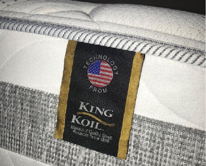 Cama box casal king koil
