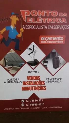 Cameras, antenas, alarmes, vendas, manutenção e