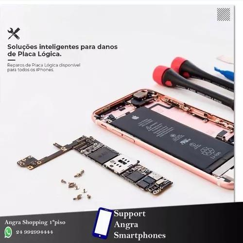 Conserto de placa de iphone