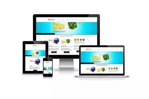 Criamos seu site ou loja virtual completa