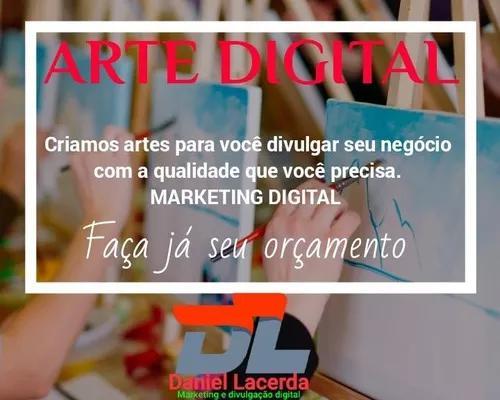 Criação de artes para marketing digital