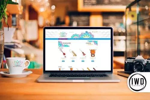 Criação de site e loja virtual + cartão de visita