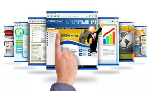 Criar site online com 3 páginas