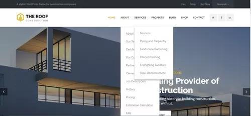 Desenvolvimento de web site - customizado
