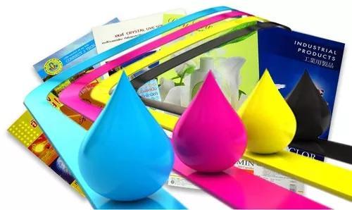 Impressão a4 - colorido papel sulfite 90g