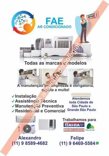Instalacão e manutenção corretiva/preventiva (fae)