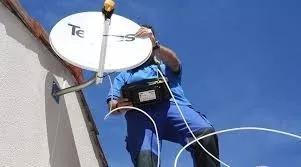 Instalador de antena apontamento