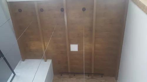 Instalação de forro de pvc, piso laminado, divisória m2