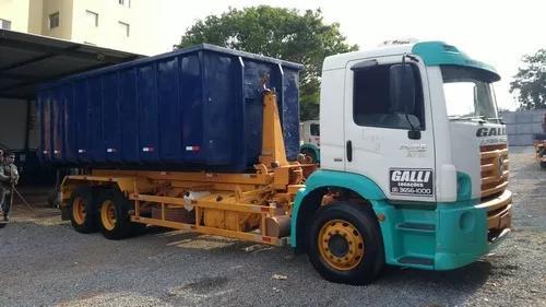 Locação caminhão roll on roll off, poliguindaste, munck