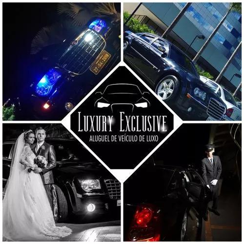 Locação de veículo de luxo com chofer para noivas.
