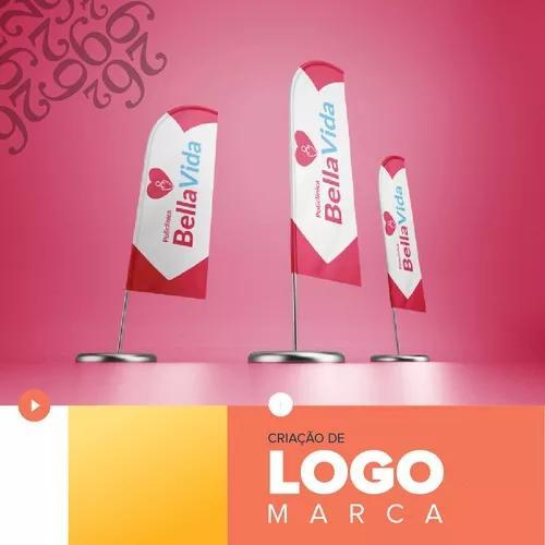 Logomarca logo marketing criação