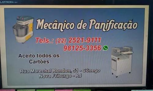 Mecânico de panificação