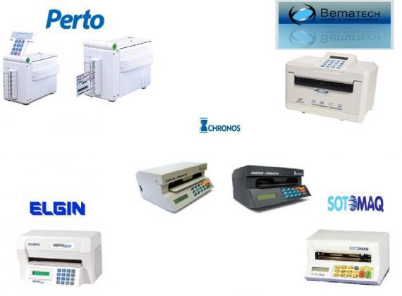 Máquina de preencher cheque em Rgistro