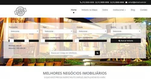 O melhor site para imobiliária e corretor de imóveis