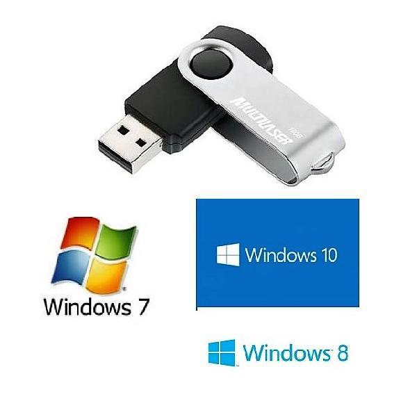 Pen drive de instalação do windows original