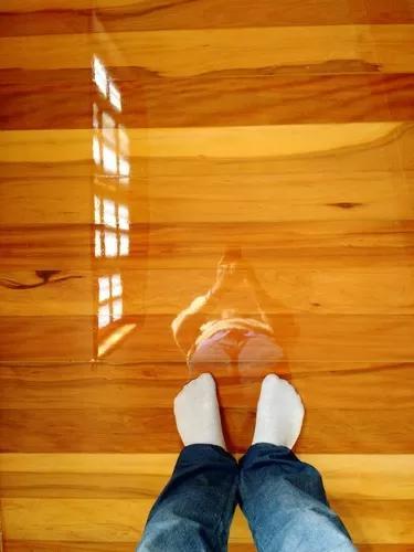Pisos de madeira, deck, raspag
