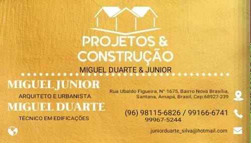 Projetos e construções