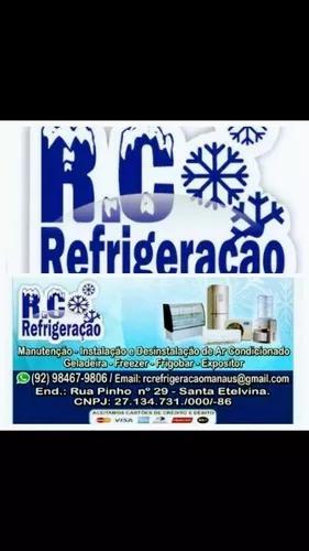 Rc refrigeração e manutenção fone 984679806