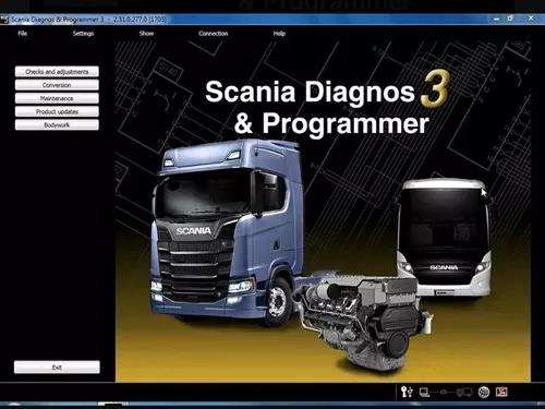 Scania sdp3 2.39 original