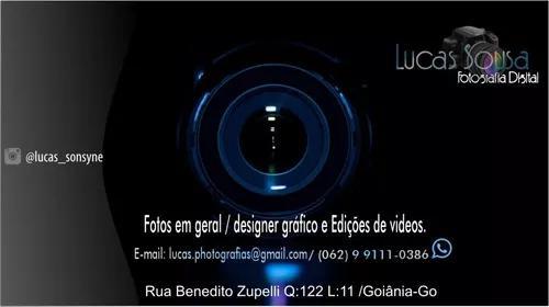 Serviços web designer, fotografias, vídeos comerciais.