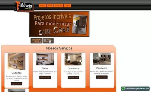 Site para marcenaria e móveis planejados. responsivo onpage