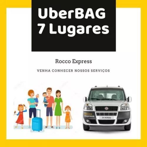 Uber 7 lugares tipo doblo p/aer.porto guarulhos 129,90