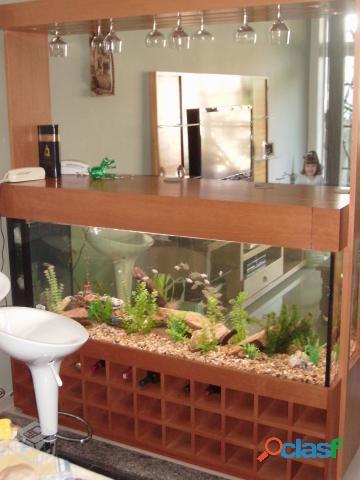 Aquário sob encomenda! conserto, reparo, montagem e manutenção de aquários em geral