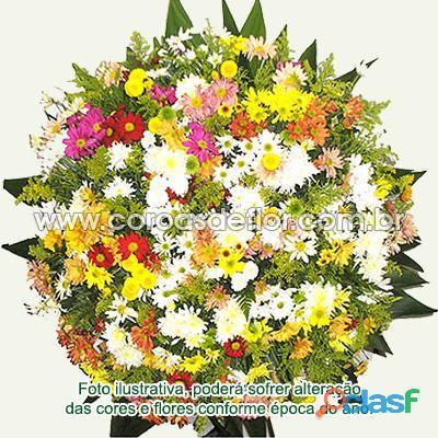 Coroas de flor em toda região metropolitana de bh