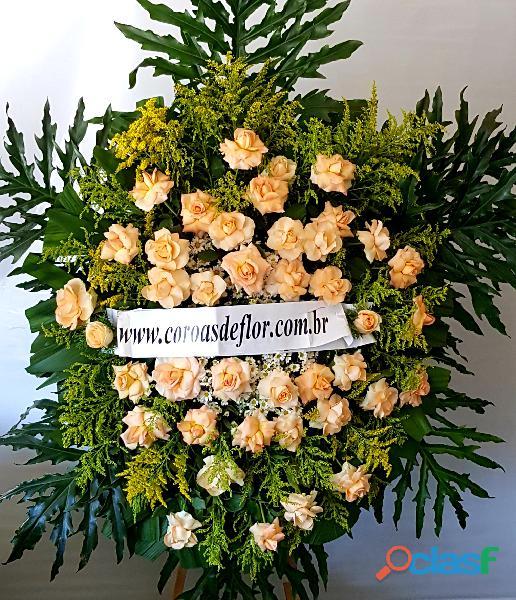 Coroas de flores para velorio bh