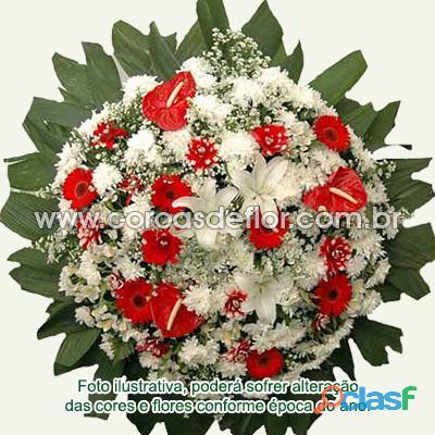 Entrega coroa de flores barreiro