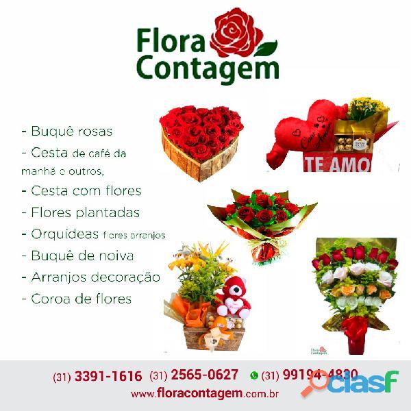 Floricultura puc contagem