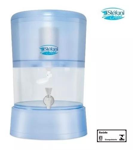 Bebedouro filtro de água alcalina stéfani cristal