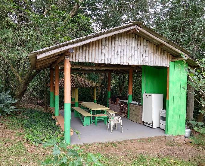 Chácara em condomínio 1.000 m²- lomba grande - novo
